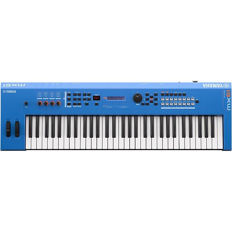 YamahaMX61 61 Key Music Production SynthesizerElectric Blue