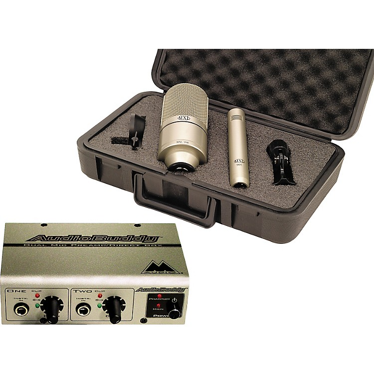 M-AudioMXL 990/991 and Audio Buddy Package