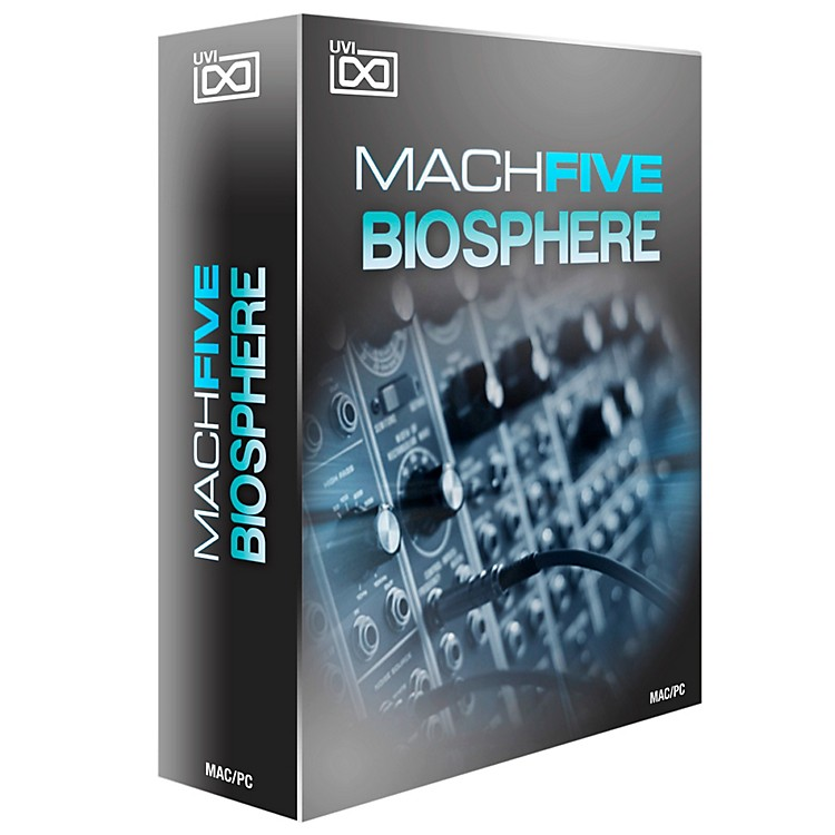 UVI MachFive Biosphere Collection of Synthetic Sounds Software Download Software Download