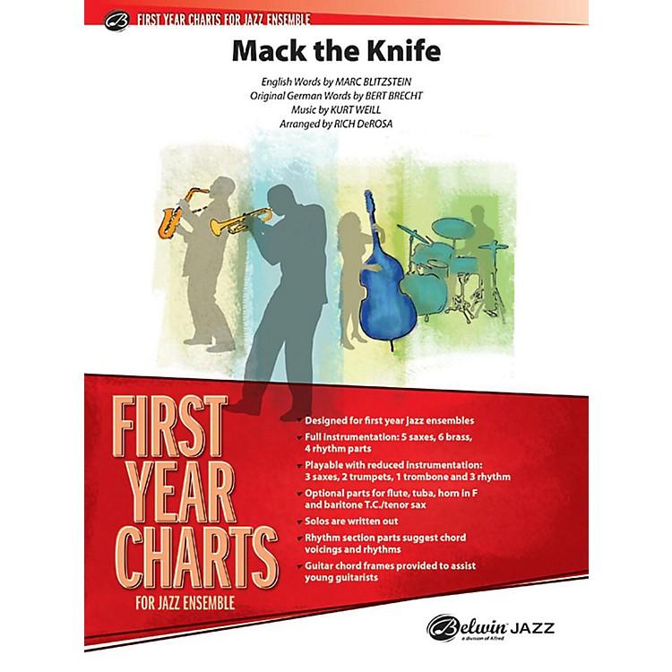 AlfredMack the Knife Jazz Band Grade 1 Jazz Band Grade 1 Set