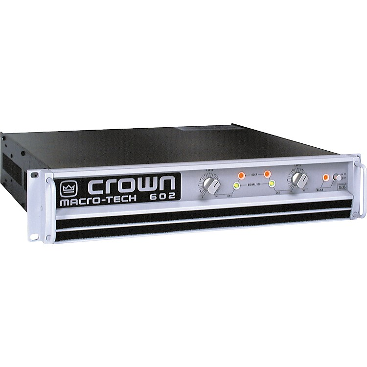 Power Amplifier Crown Macro Tech : crown macro tech ma 602 power amp music123 ~ Russianpoet.info Haus und Dekorationen