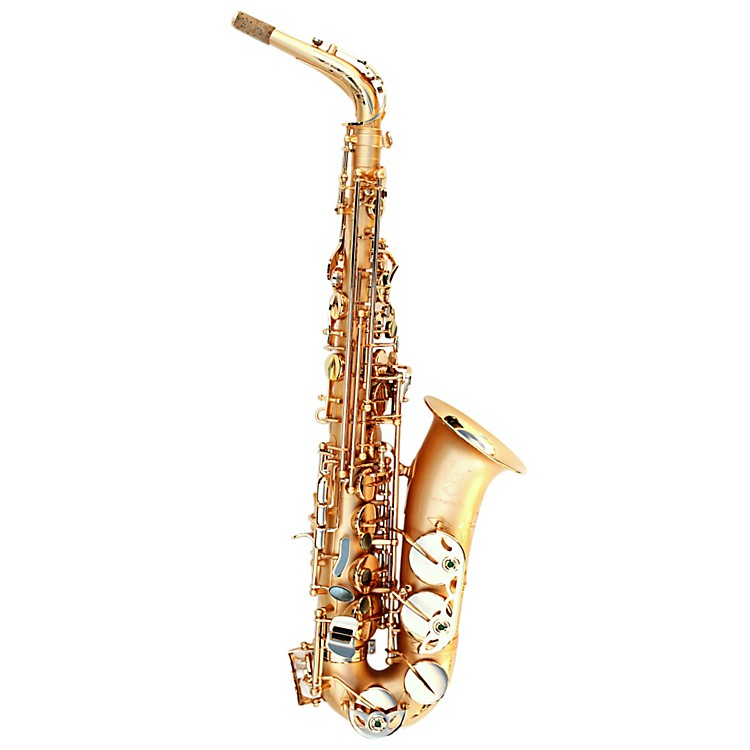 OlegMaestro Alto SaxophoneBlack Nickel with Silver Keys