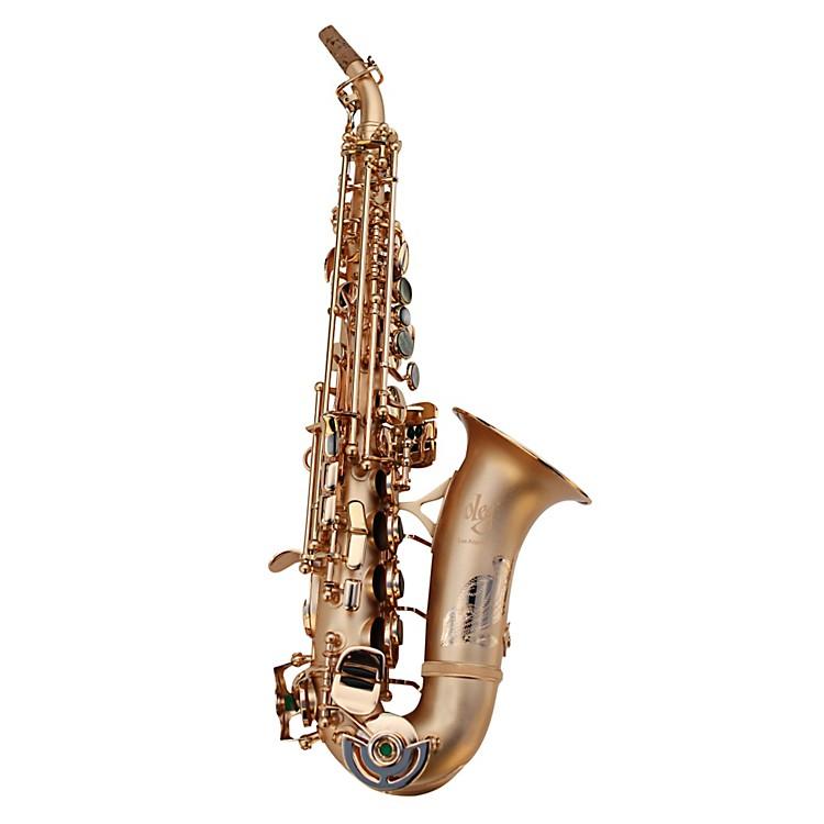 OlegMaestro Curved Soprano SaxophoneMatte Gold