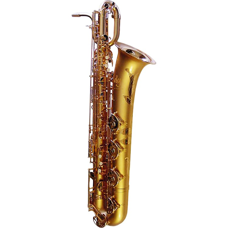 OlegMaestro Series Baritone SaxophoneMatte Vintage Gold Plated