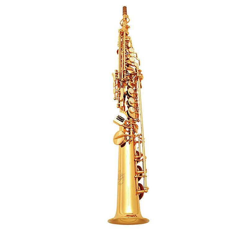 OlegMaestro Straight Soprano SaxophoneGold Plated