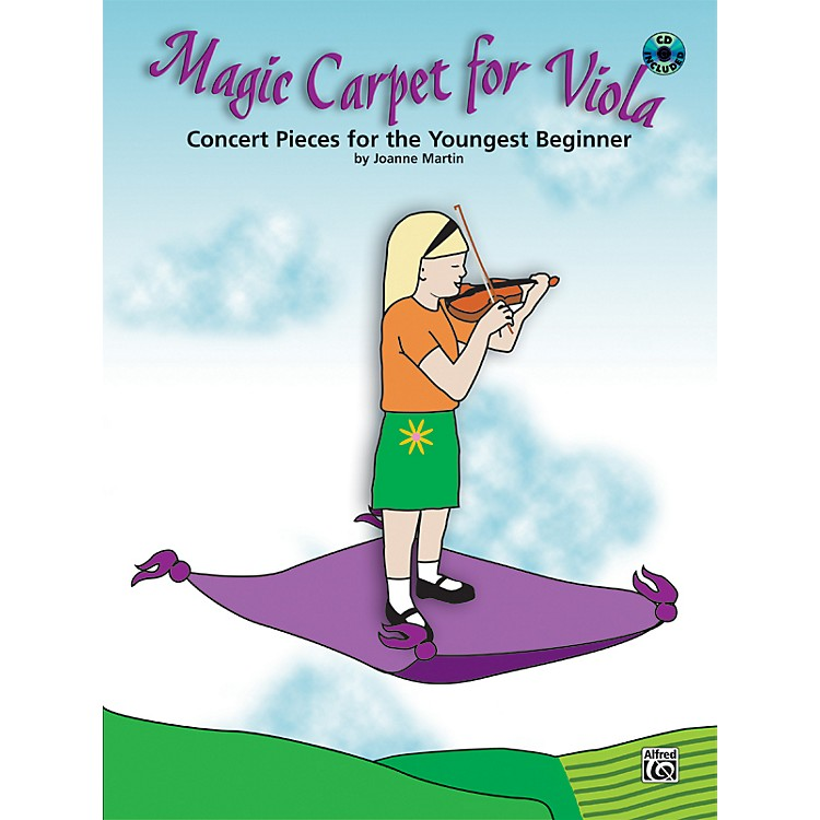 Alfred Magic Carpet: Concert Pieces for the Youngest Beginners Viola