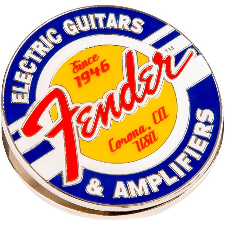 FenderMagnet Clip Guitars and Amps Logo