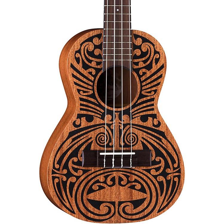 Luna GuitarsMahogany Tribal Tenor Ukulele