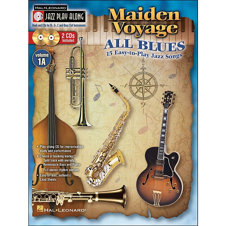 Hal LeonardMaiden Voyage/All Blues - Jazz Play-Along Vol. 1A (Book/2 CDs) 15 Easy-To-Play Jazz Songs