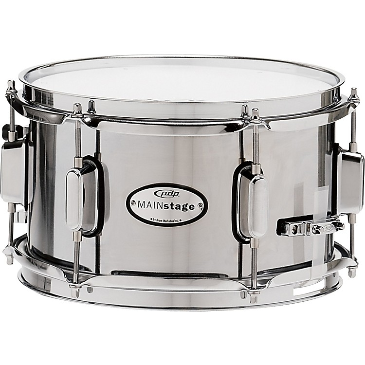 PDP Mainstage Chrome over Steel Snare 10 x 6 in.