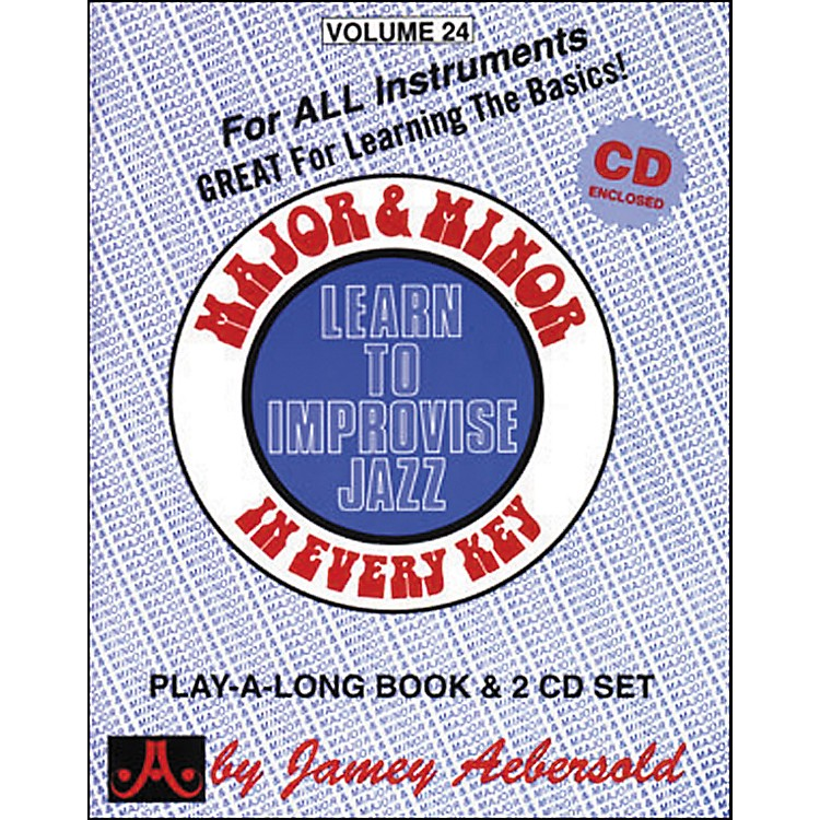 Jamey AebersoldMajor & Minor In Every Key - Learn to Improvise Jazz (Book/CD)