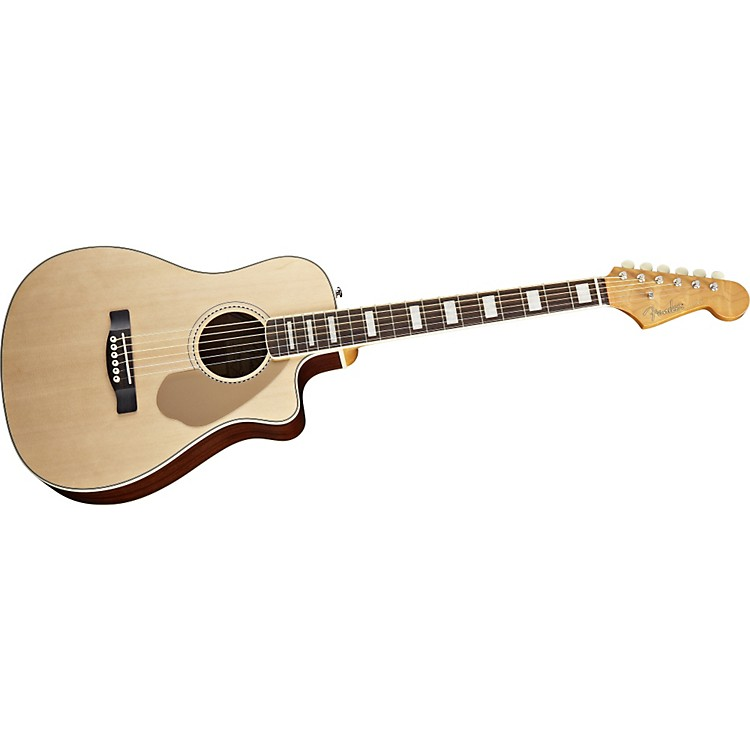 Fender Malibu SCE Acoustic-Electric Guitar Natural