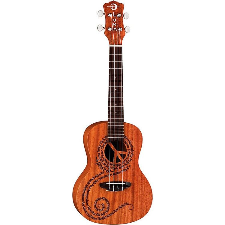 Luna Guitars Maluhia Concert Ukulele Mahogany with Satin Finish