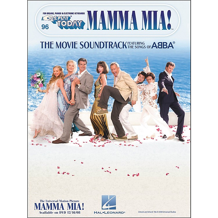 Hal Leonard Mamma Mia: The Movie Soundtrack E-Z Play 96
