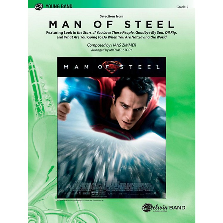 Alfred Man of Steel Selections from Concert Band Level 2 Set