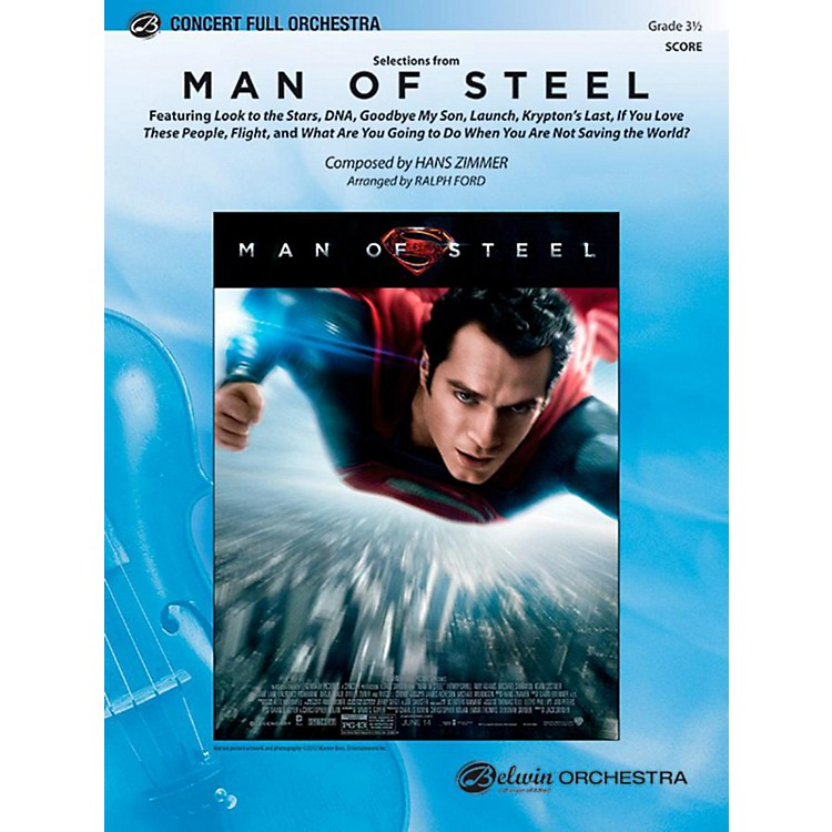 AlfredMan of Steel, Selections from Full Orchestra Level 3.5 Set