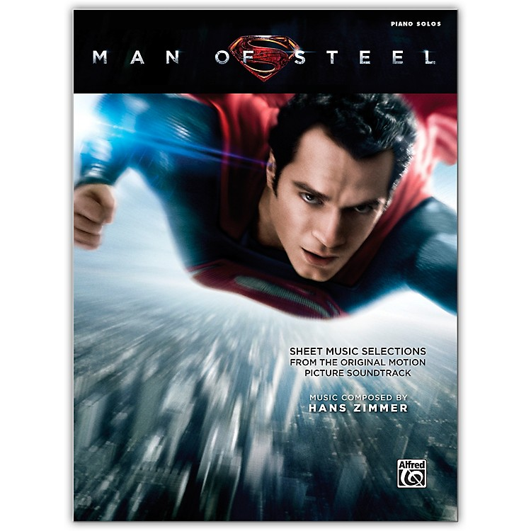 AlfredMan of Steel Sheet Music Selections Piano Solos Book