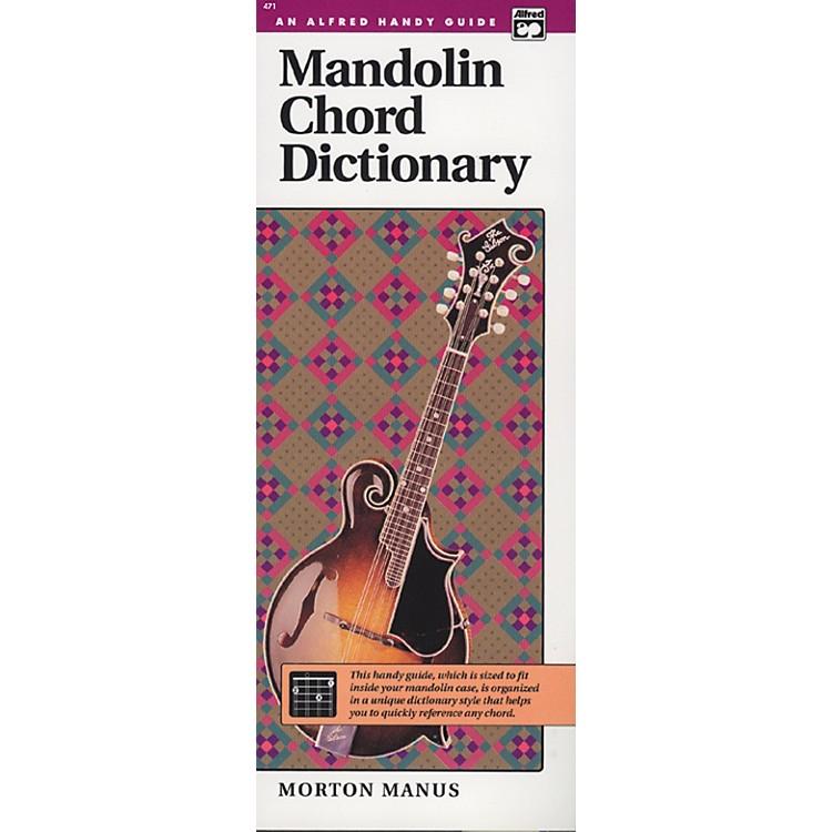 AlfredMandolin Chord Dictionary