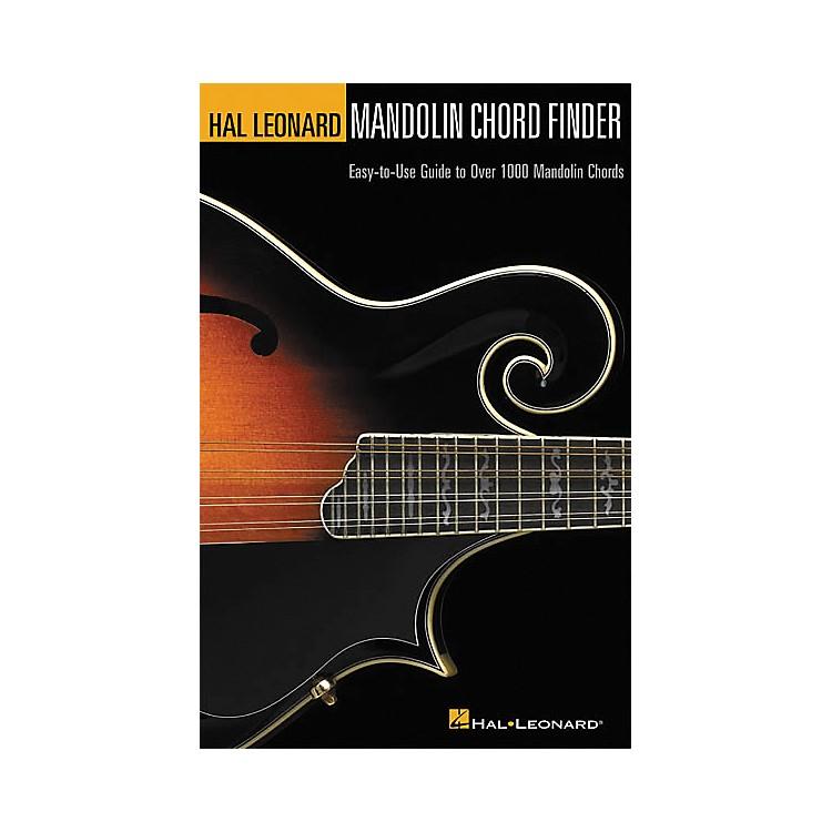 Hal LeonardMandolin Chord Finder Book