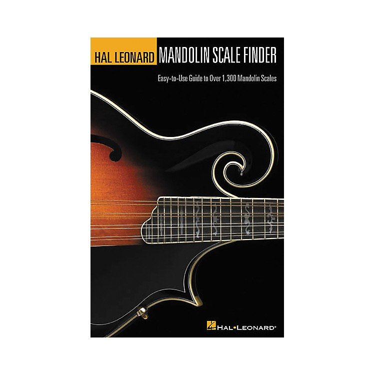 Hal Leonard Mandolin Scale Finder 6x9 Book