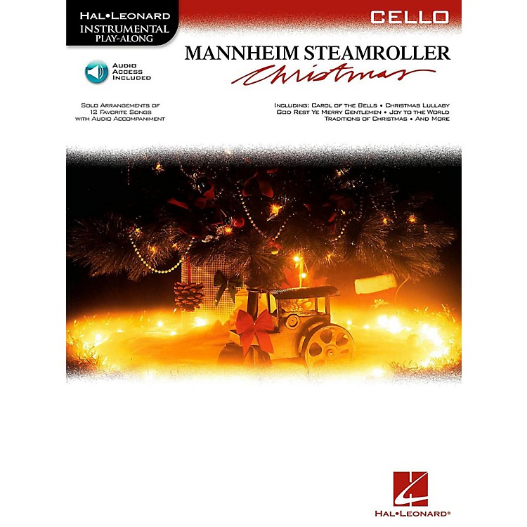 Hal LeonardMannheim Steamroller Christmas For Cello - Instrumental Play-Along (Bk/Audio)