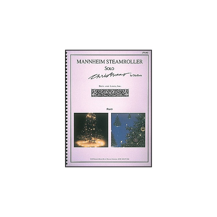 Hal LeonardMannheim Steamroller Solo Christmas Solos for Flute And Piano