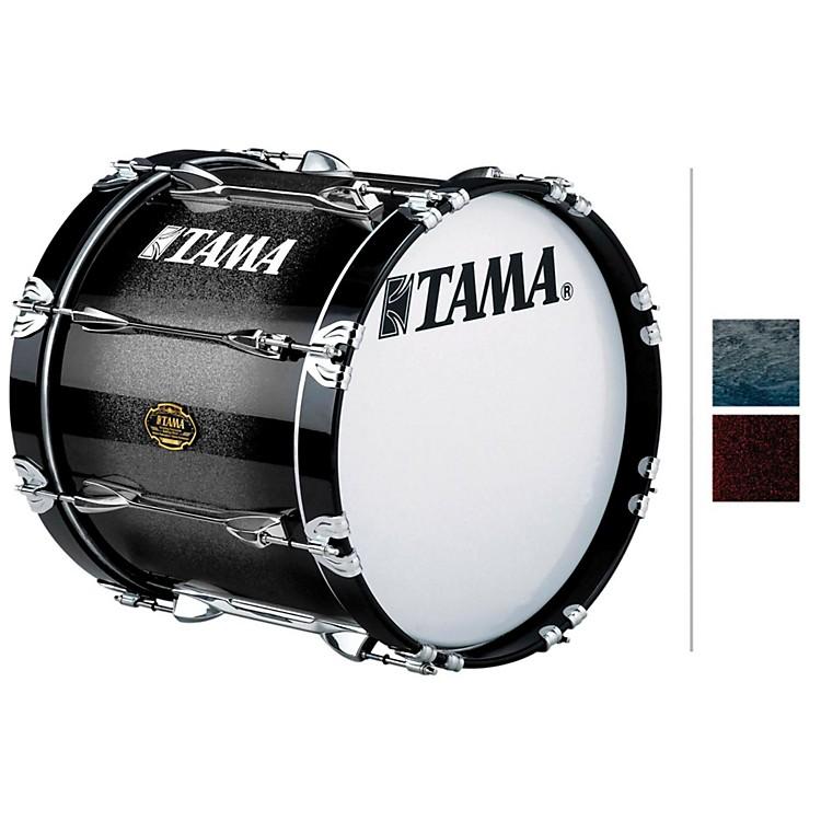 Tama MarchingMaple Bass DrumSmoky Indigo Fade14x16