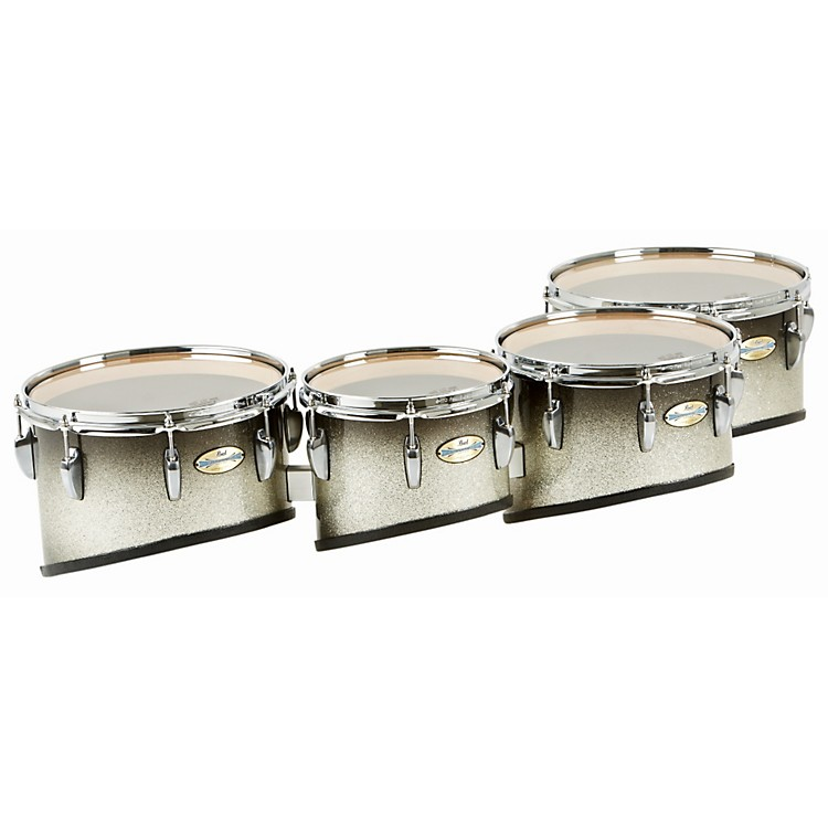 Pearl Maple Carbon Core Marching Tenors Shallow Cut Quad Set (Drums & Spacers Only)