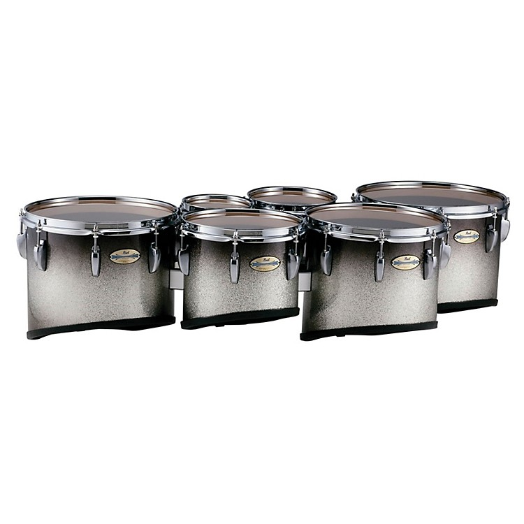 Pearl Maple Carbon Core Marching Tenors Shallow Cut Sextet Set (Drums & Spacers Only)