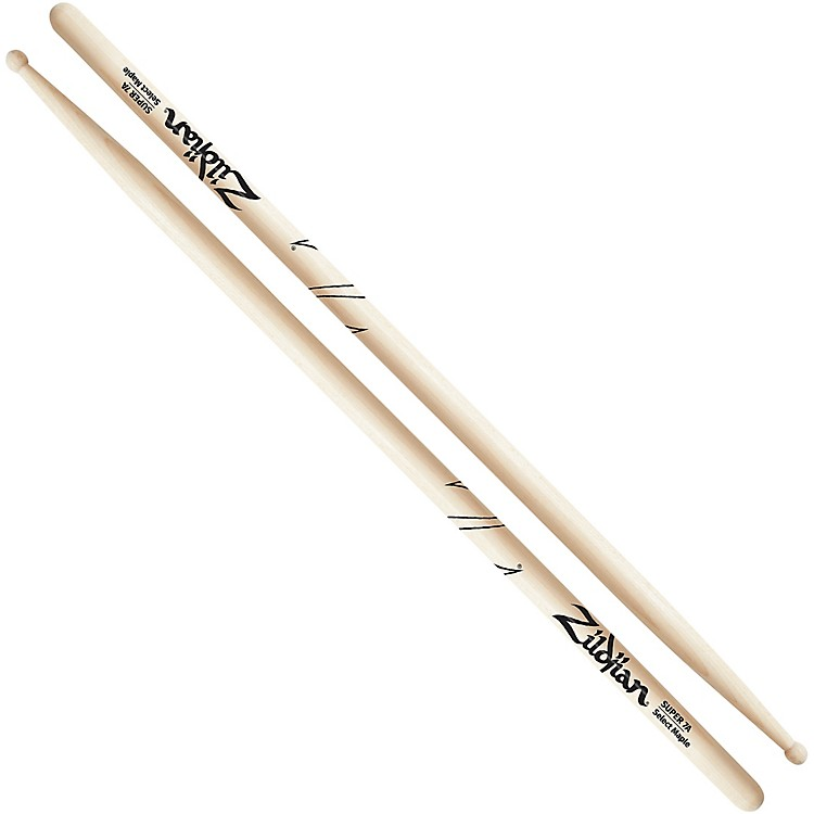 Zildjian Maple Drumsticks Super 7A Wood Tip