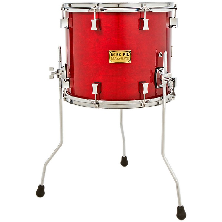 Pork Pie Maple/Rosewood Floor Tom Black Cherry 14 x 12 in.