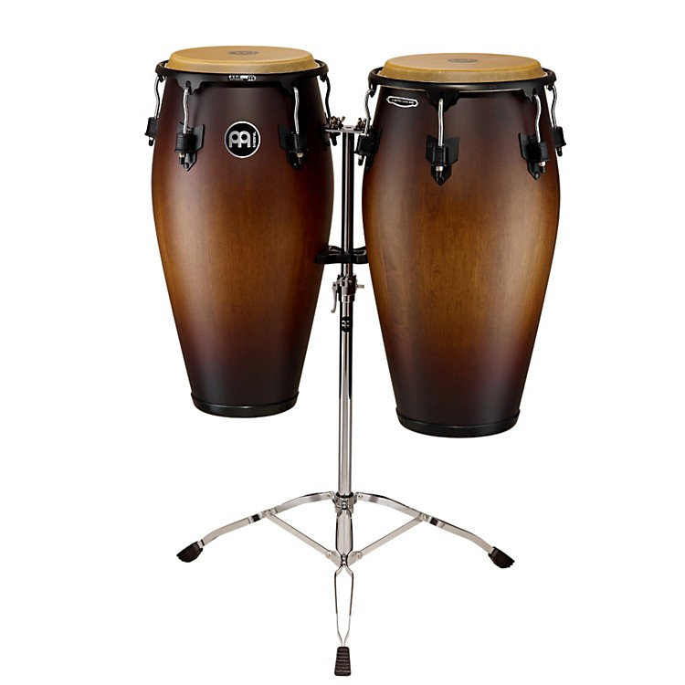 Meinl Marathon Classic Series Congas Set Antique Tobacco Burst 11 and 11.75 in.