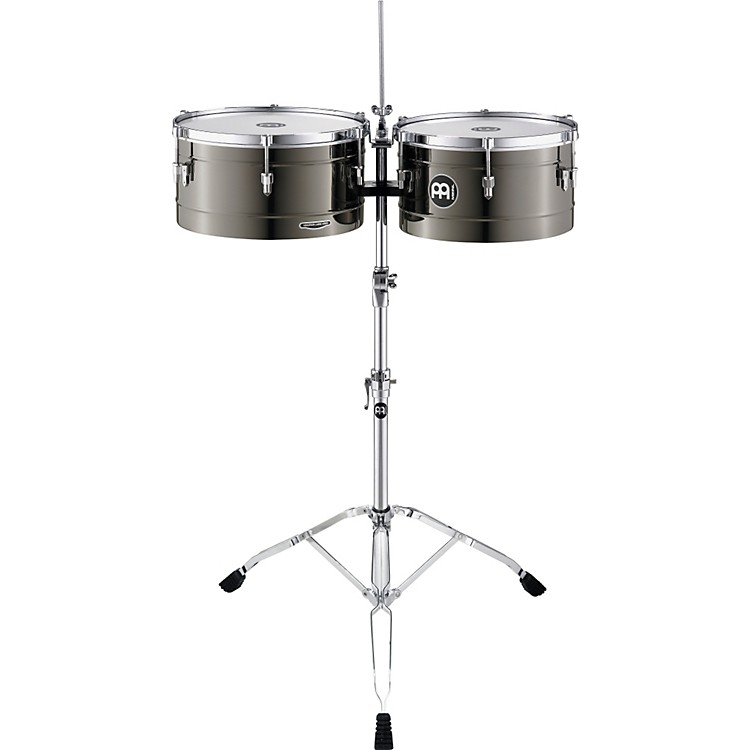 Meinl Marathon Steel Timbales Black Nickel