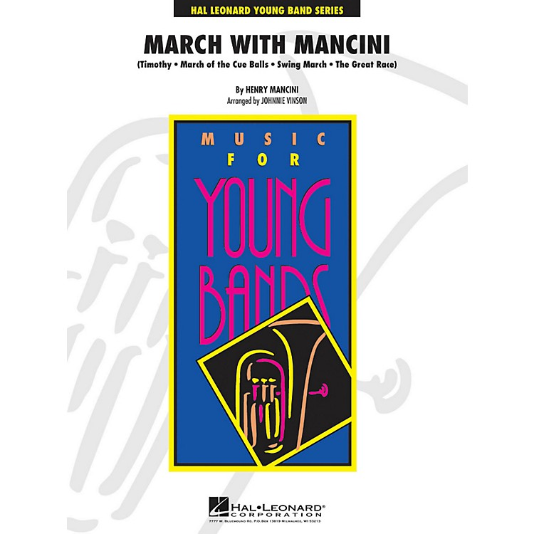 Hal Leonard March With Mancini - Y