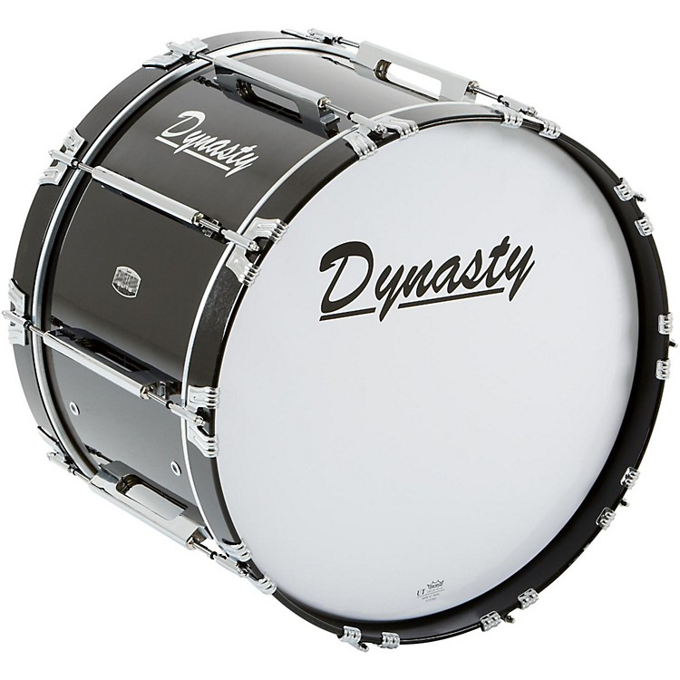 DynastyMarching Bass DrumBlack22 x 14 in.