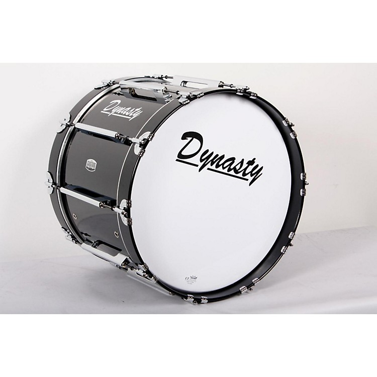 Dynasty Marching Bass Drum Black, 20X 14 IN. 888365824147