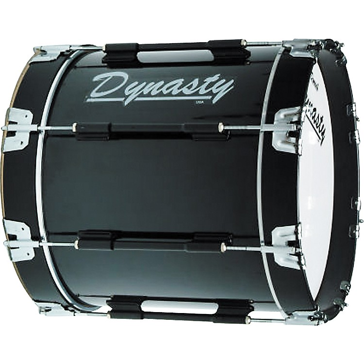 Dynasty Marching Bass Drums Blue 26 inch