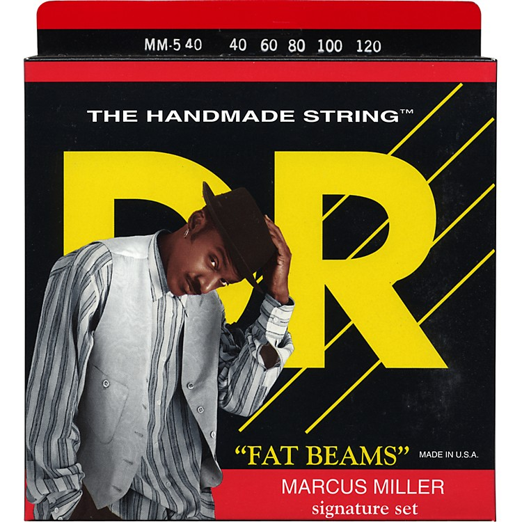 DR StringsMarcus Miller MM5-40 Fat Beams Lite 5-String Bass Strings .120 Low B