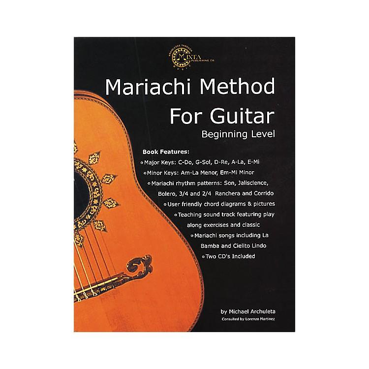 Mixta Publishing Co.Mariachi Method for Guitar (Book/CD)