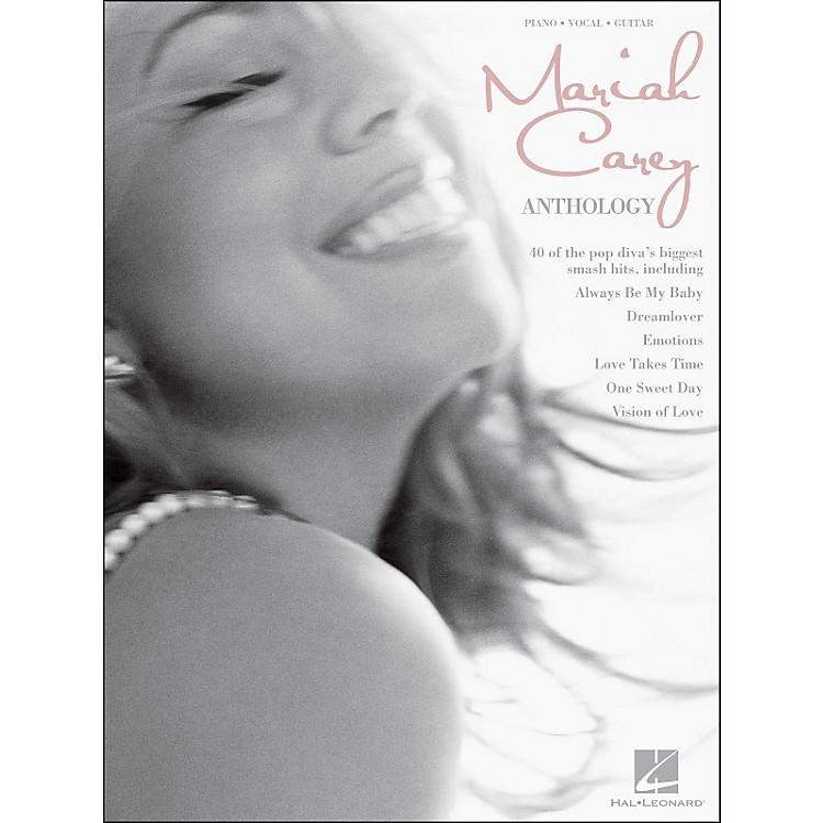 Hal LeonardMariah Carey Anthology arranged for piano, vocal, and guitar (P/V/G)