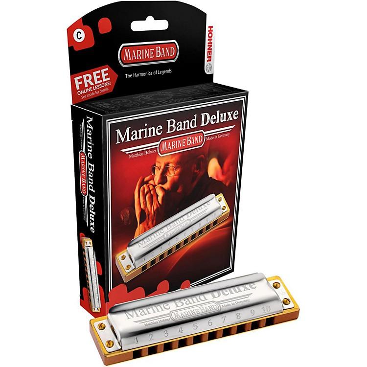 HohnerMarine Band Deluxe Harmonica M2005Bb
