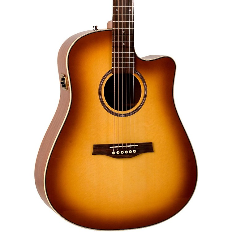 Seagull Maritime SWS Creme Brulee CW GT QI Acoustic-Electric Guitar Crème Brulée