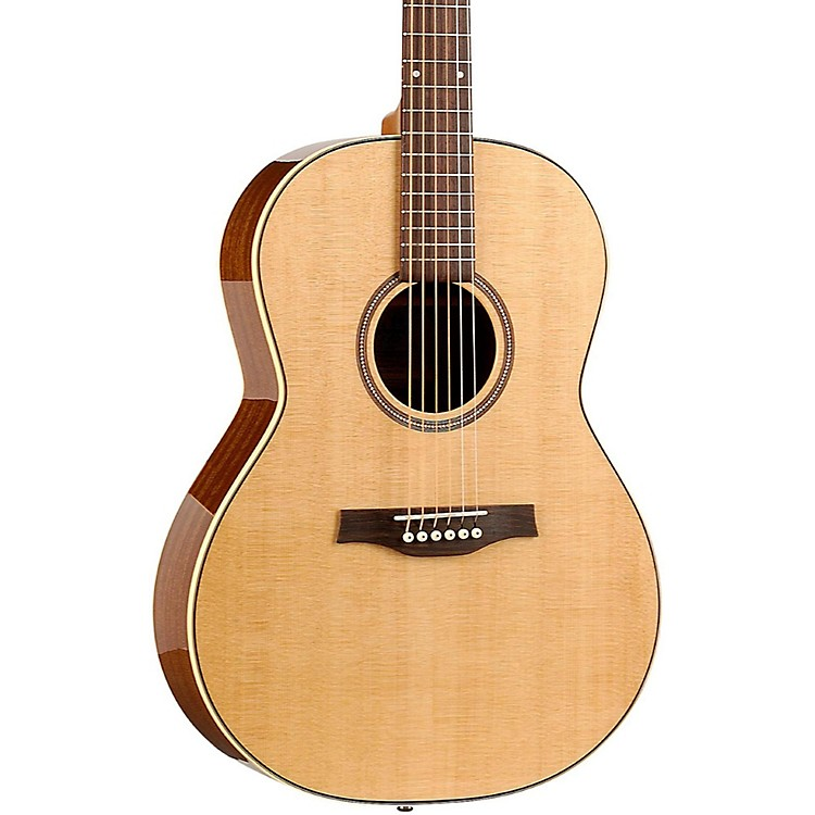 Seagull Maritime SWS Folk High Gloss QI Acoustic-Electric Guitar Natural