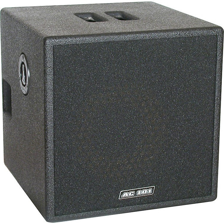 Markbass Markacoustic AC 101 CAB 200W 1x10 Acoustic Speaker Cabinet Black 8 Ohms