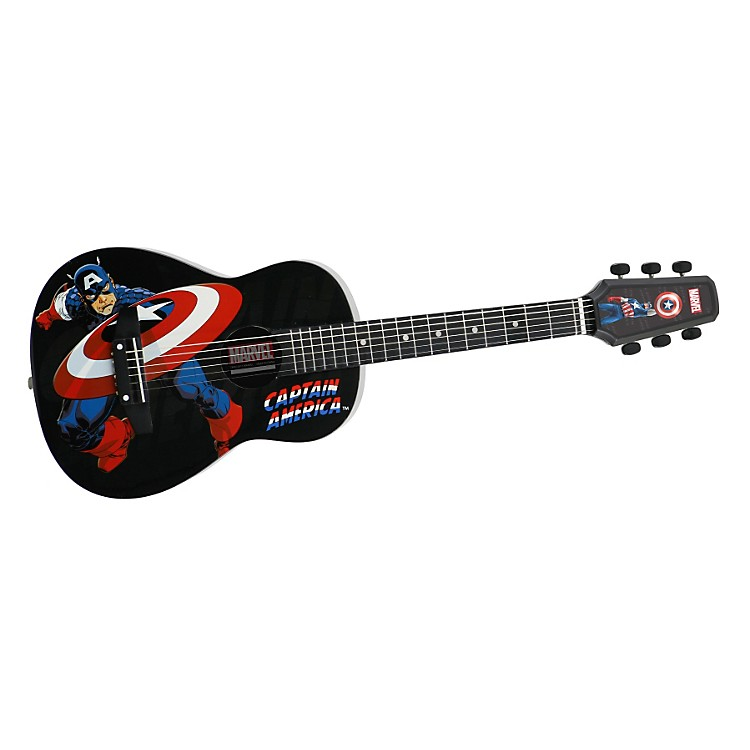 Peavey Marvel Captain America 1/2 Size Acoustic Guitar