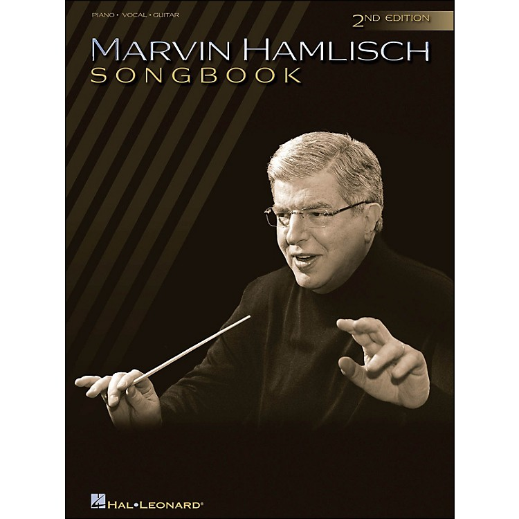 Hal LeonardMarvin Hamlisch Songbook 2nd Edition arranged for piano, vocal, and guitar (P/V/G)