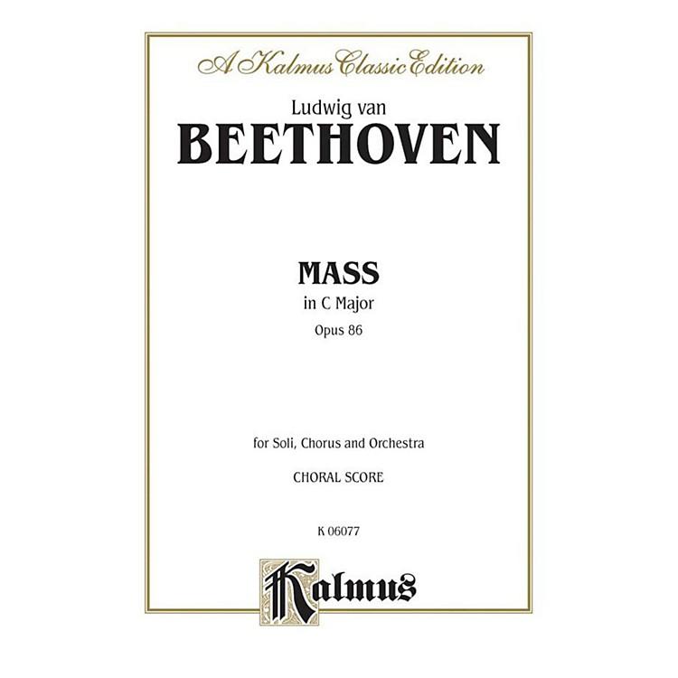 AlfredMass in C Op. 86 SATB with SATB Soli Choir
