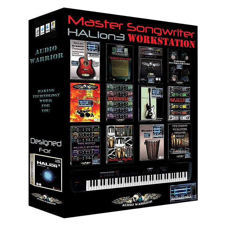 AudioWarrior Master Songwriter HALion Sample Workstation