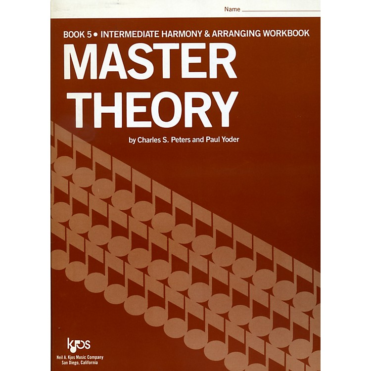 KJOS Master Theory Series Book 5 Intermediate Harmony