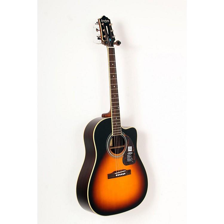 EpiphoneMasterbilt AJ-500RCE Acoustic-Electric GuitarVintage Sunburst888365804347